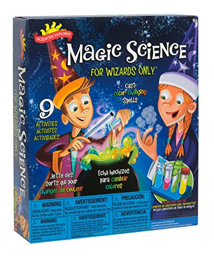 Magic Science Kit is a great gift for boys