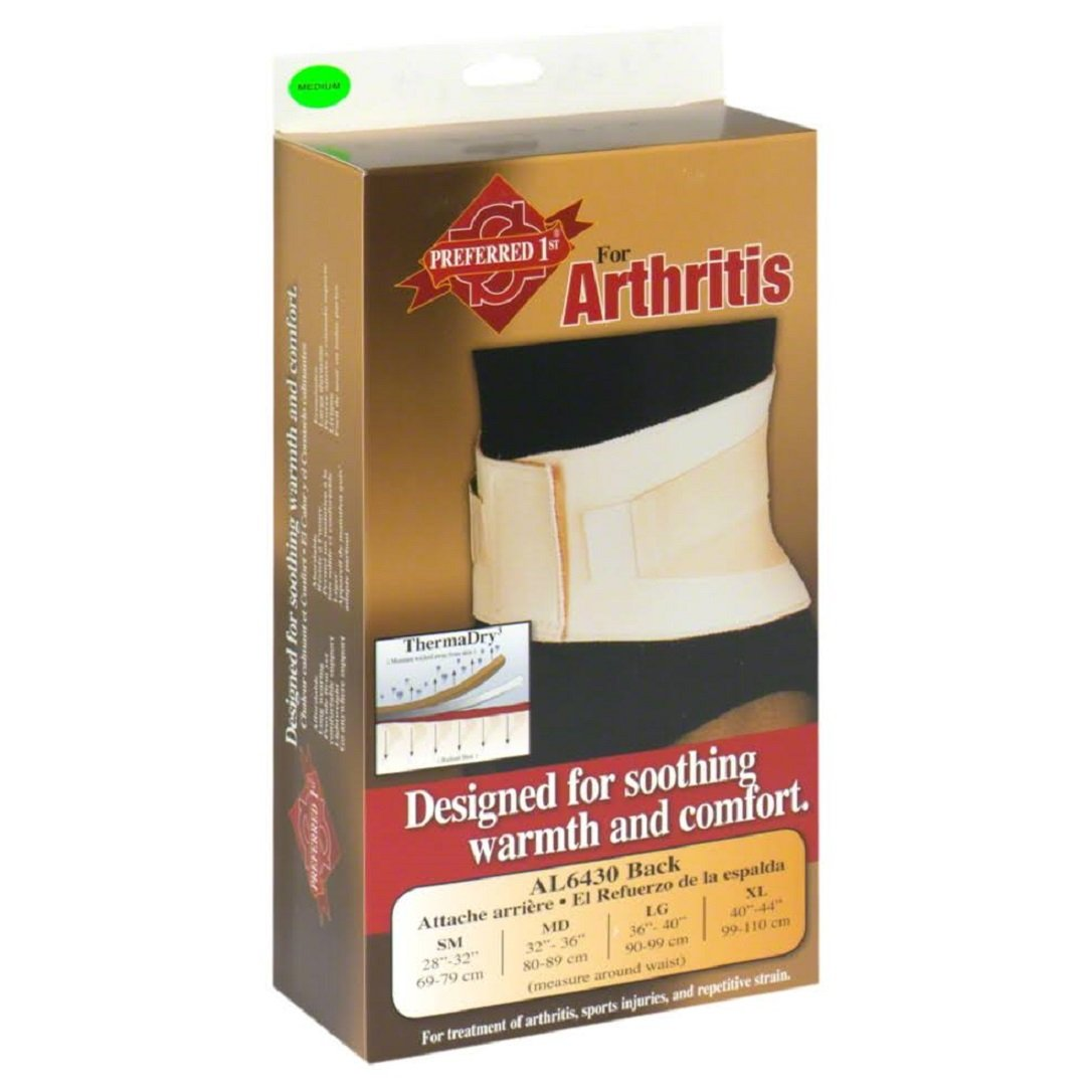 SSAL6430MD - Sport Aid Arthritis Neoprene Back Support with ThermaDry, Medium, Beige by SCOTT SPECIALTIES CMO INC