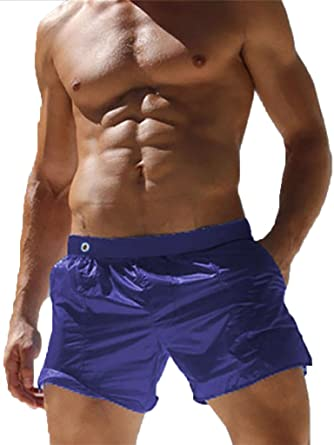 ae756a9fe5cd9 Malavita Mens Swim Shorts Slim Wear with Pocket(US S Waist 27.5 quot -