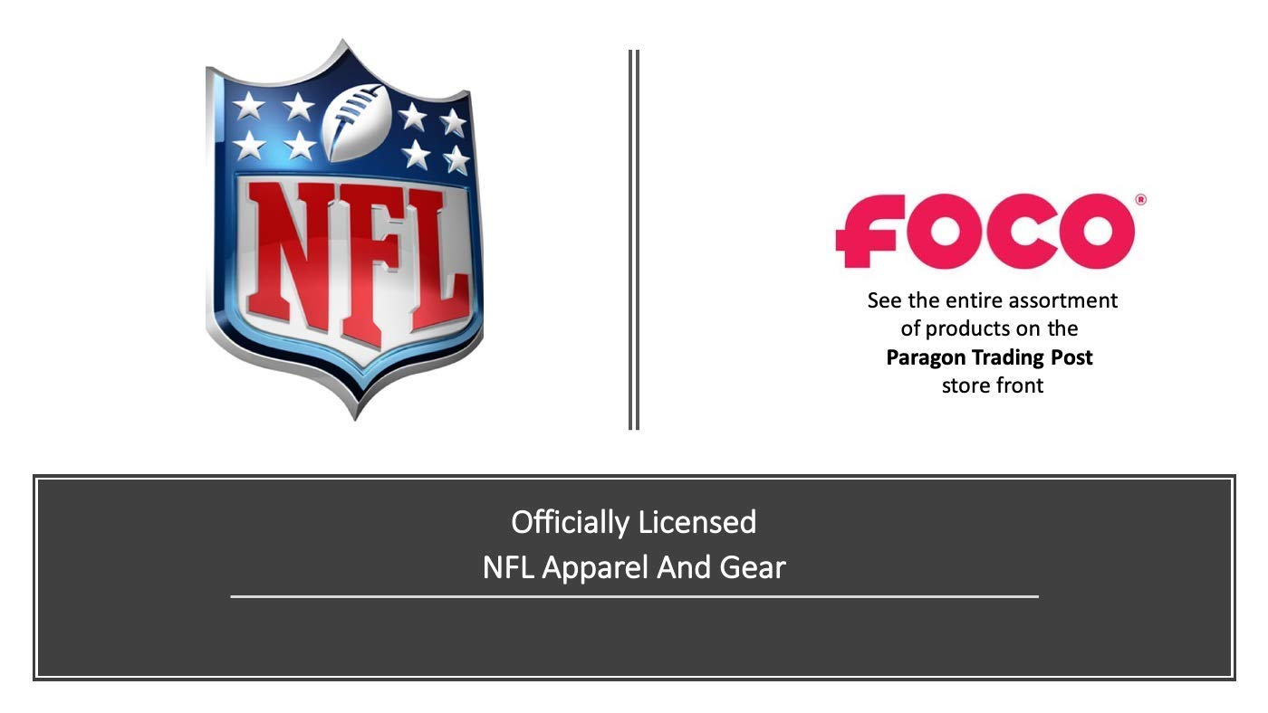 Limited Edition Sign Represent The NFL and Show Your Team Spirit with Officially Licensed Fan Gear FOCO Metal Distressed Bottlecap Wall Sign