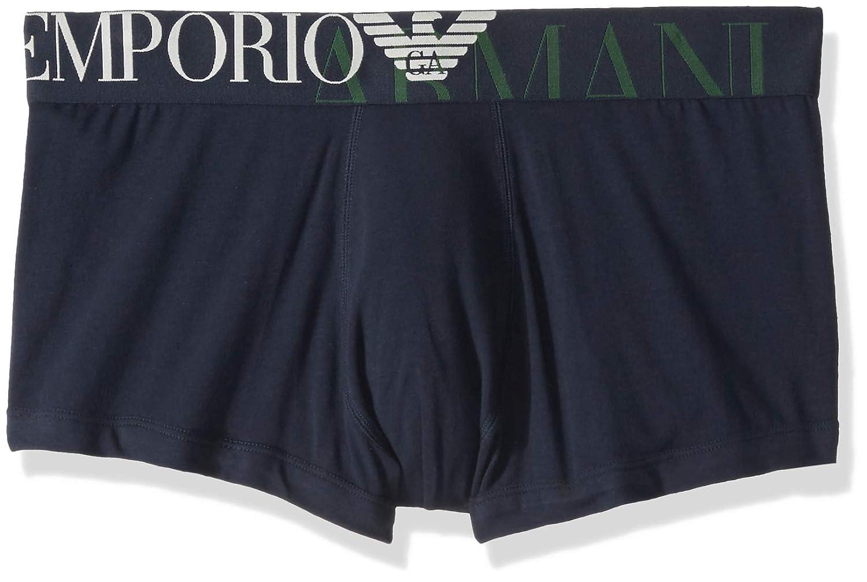 Emporio Armani Men's Mega Logo Trunk 1113898A516