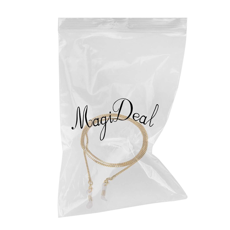 2/mm lettura occhiali occhiali catena collo Cord con confezione regalo
