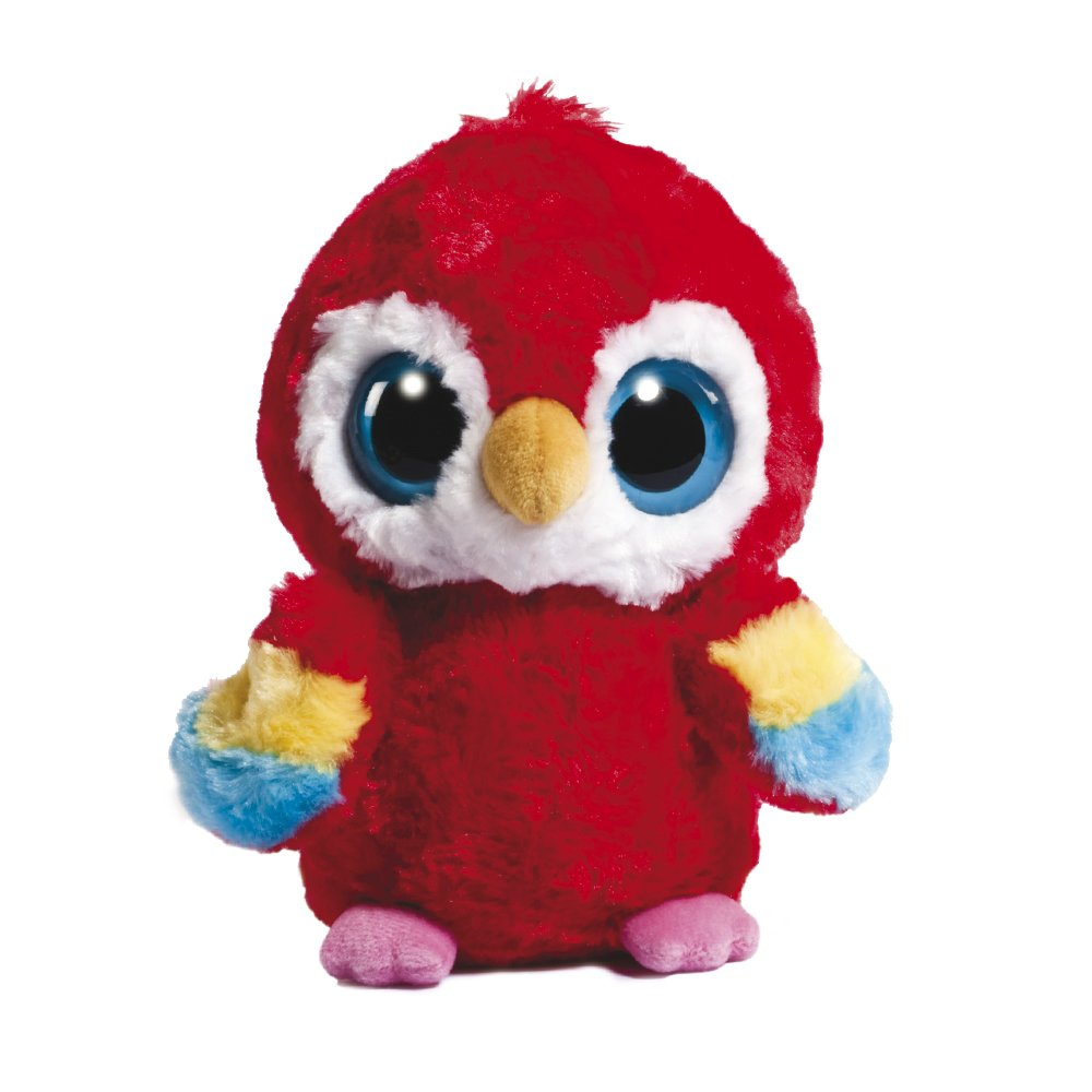 9001dcb74d3 YooHoo and Friends 5-inch Scarlet Macaw  Amazon.co.uk  Toys   Games