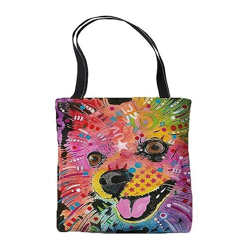 Amazon.com: Pomeranian Design - Bolsas para regalo, diseño ...