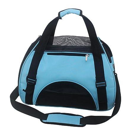 Paquete para mascotas Ventilación respirable Paquete para gatos Mochila Cat Estuche para transporte saliente Gato fuera