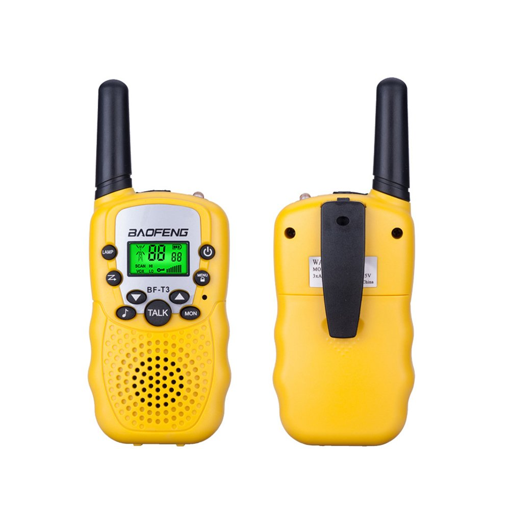-Blue BaoFeng BF-T3 Kids Walkie Talkies 22 Channel Childrens Two-Way Radio FRS//GMRS UHF Long Range 1 pair