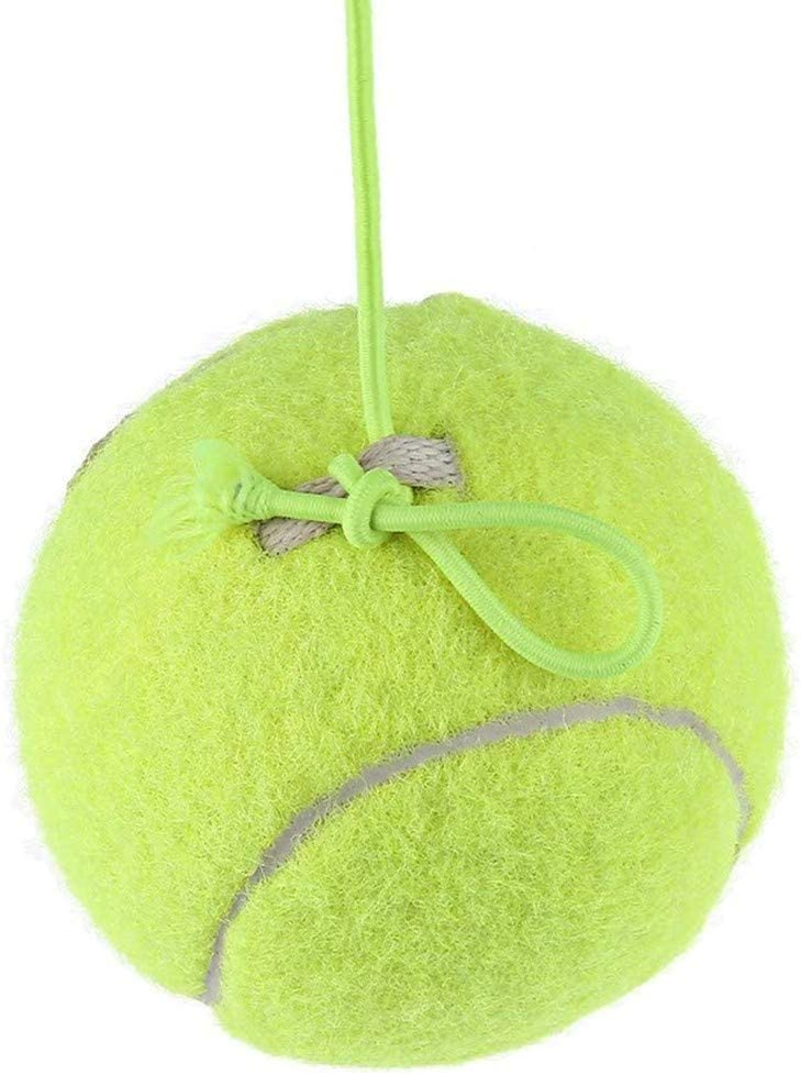 Tennis Trainer,Tennis Ball Self-Study Practice Tool Equipment Aid Serve Holper,Contact Windshield for Safe Parking,Can be Connected to Garage Door so Ball Retracts TADAMI Tennis Ball with String