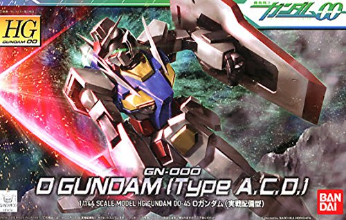 Bandai Hobby #45 O Gundam , Bandai Gundam 00 Action Figure