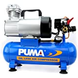 Puma Industries PD1006 Air Compressor, Professional D.C. Direct Drive Oil-Less Series, 0.75