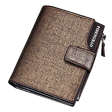 Amazon.com: Fishagelo 14 Card Slots Men PU Leather ...