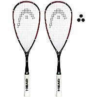 Head Nano Ti Squash Racket Series (Múltiples Opciones)
