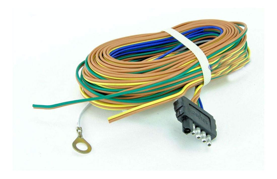 Boat Or Utility Trailer Light Wiring Harness Standard 5 Flat 35 Foot Long by Unknown
