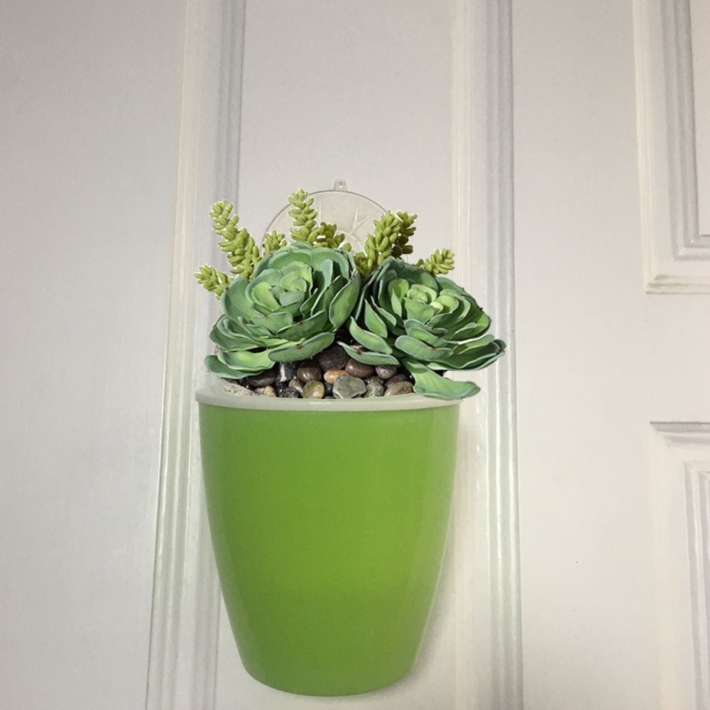 Vencer 6 Pack Self Watering Hanging Planter Flower Pot Suitable for All Plants,Herbs,African Violets,Succulents,Flowers Or Start Plants,Blue,VF-060B