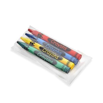 Amazon.com: 4 paquetes de crayones de 50 unidades, en bolsas ...