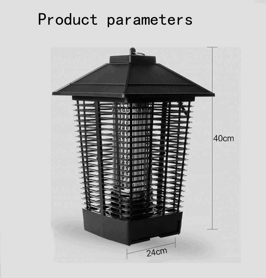 Tipo de Descarga eléctrica a Prueba de Agua balcón Que cuelga al Aire Libre Mosquito Matando a Mosquitos artefacto Exterior Granja jardín jardín Repelente de Mosquitos lámpara: Amazon.es: Hogar
