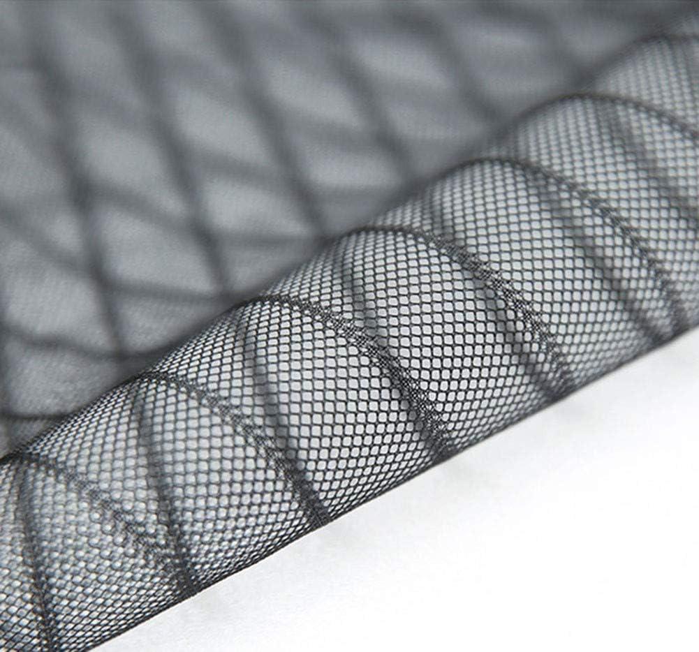 Mosquitera Puertas con Cortina De Malla Resistente Y Velcro De Marco Completo para Mascotas Y Ni/ños UNILIFE Mosquitera Magn/ética para Puerta Negro