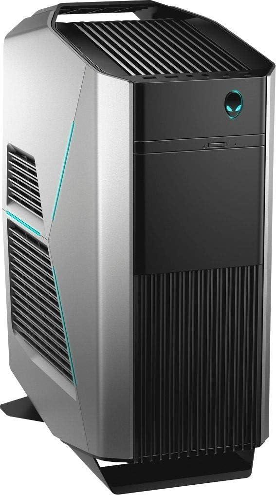 Alienware - Aurora R8 Desktop - Intel Core i7-16GB Memory - NVIDIA GeForce RTX 2080-1TB Hard Drive + 256GB Solid State Drive - Epic Silver