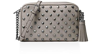 cda51a8f6d Image Unavailable. Image not available for. Color  MICHAEL Michael Kors  Women s Ginny Studded Medium Leather Camera Bag