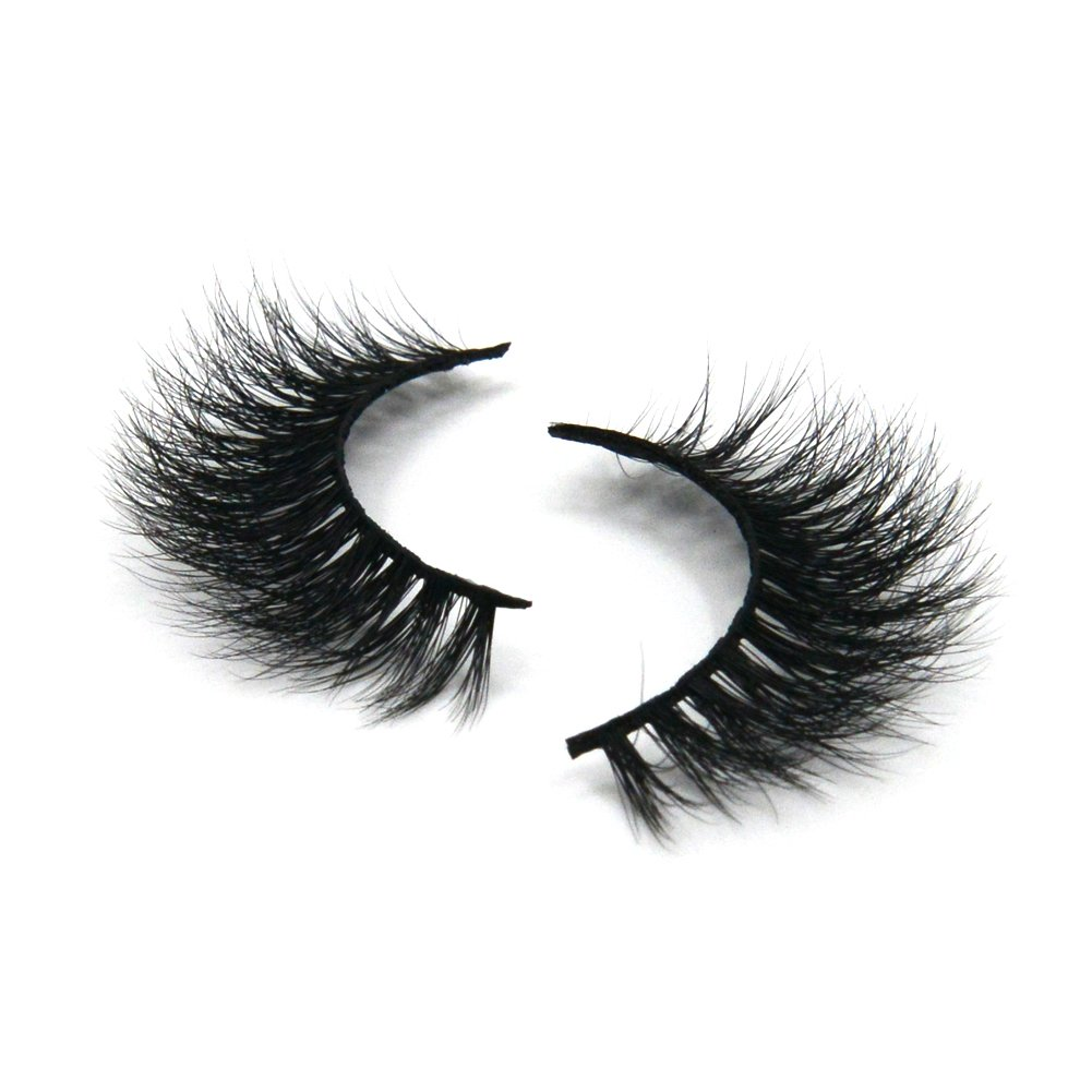 Arison Lashes 3D Mink Fur Fake Eyelashes Women's Makeup False Lashes Hand-made 3D Style 1 Pair Package(3D004)