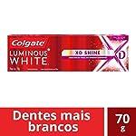 Creme Dental Branqueador Luminous White XD 70 g, Colgate, 70g