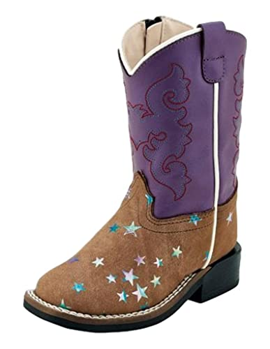 35301307f98 Old West Kids Boots Baby Girl's Emily (Toddler)