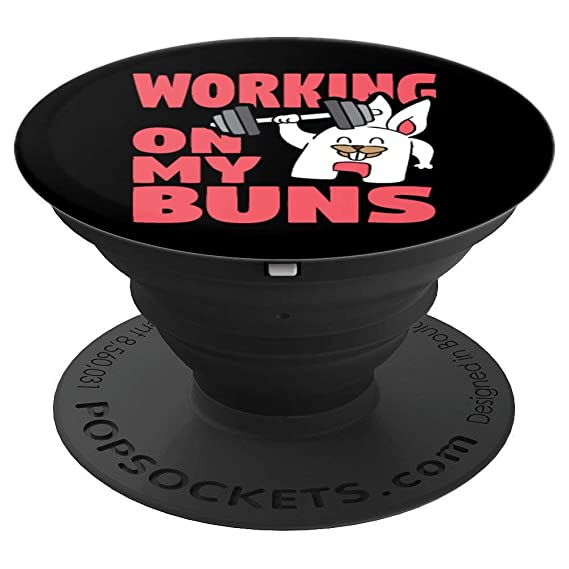 Amazoncom Working On My Buns Fit Easter Bunny Gym Workout Gift