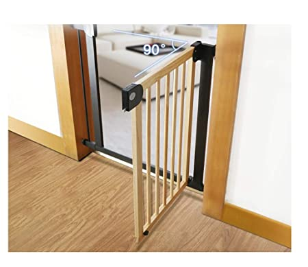 Free Punch Door Bar Child Safety Gate Bar Baby Isolation Railing