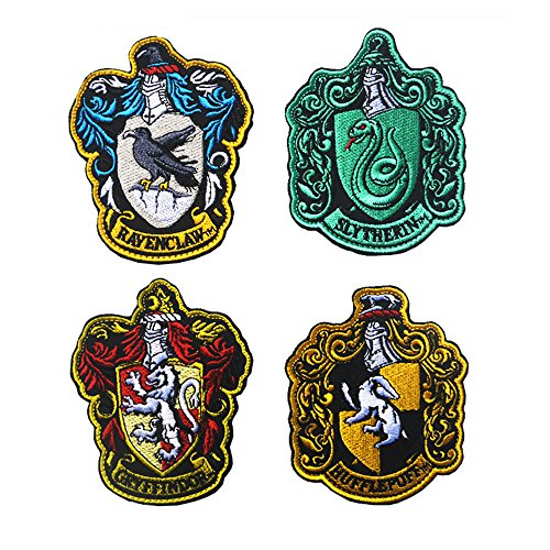 Harry Potter House of Gryffindor Crest, Slytherin, Ravenclaw,