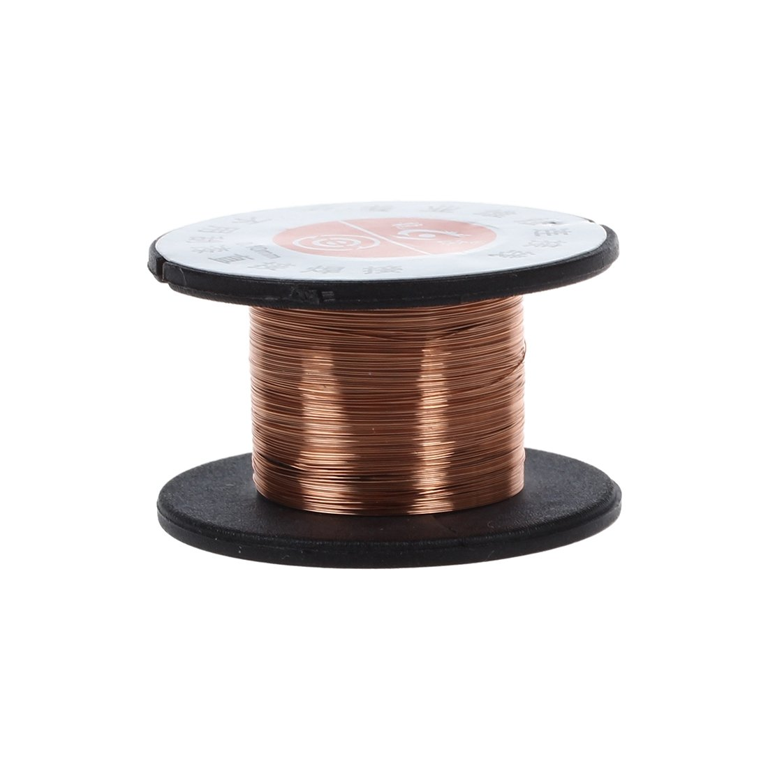 SODIAL(R) 1Pcs 15m 0.1MM Copper Soldering Solder Enamelled Reel Wire Roll Connecting