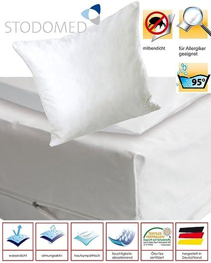 Tauro – Juego de 2 STODOMED Protector de colchón funda Completo Funda con cremallera. entre