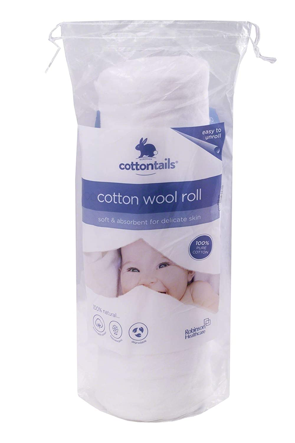 Cottontails 300g Cotton Wool Roll BabyCenter 3564093