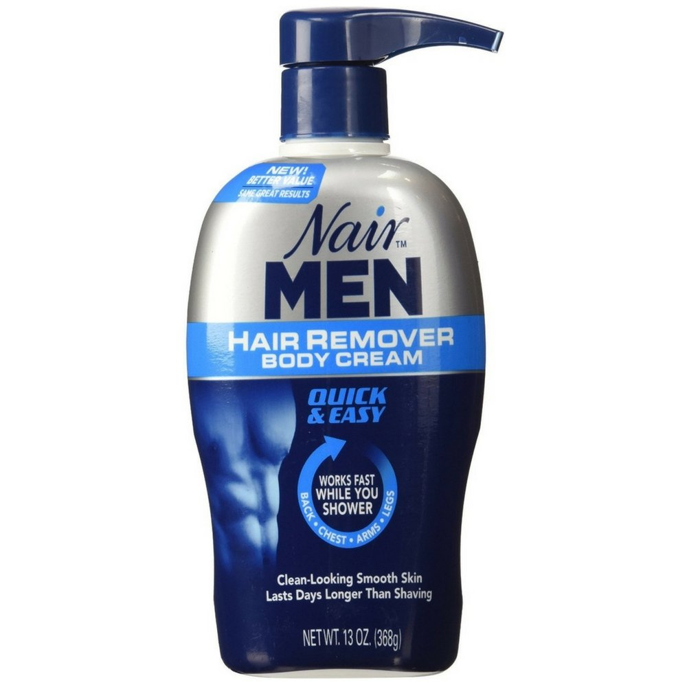 Nair For Men Hair Removal Body Cream 13 oz (Pack of 7)