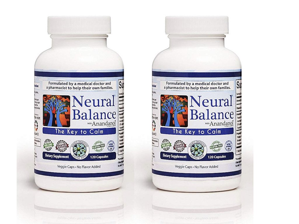 Neural Balance with Anandanol 120 Capsules Value Pack