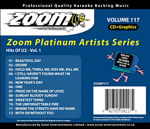 Zoom G - Platinum Artists 117: U2