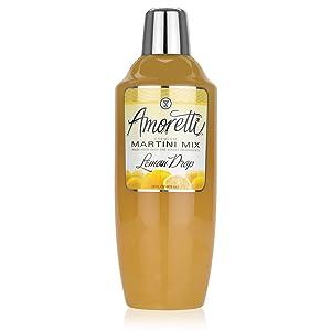 Amoretti Premium Martini Cocktail Mix, Lemon Drop, 28 Ounce