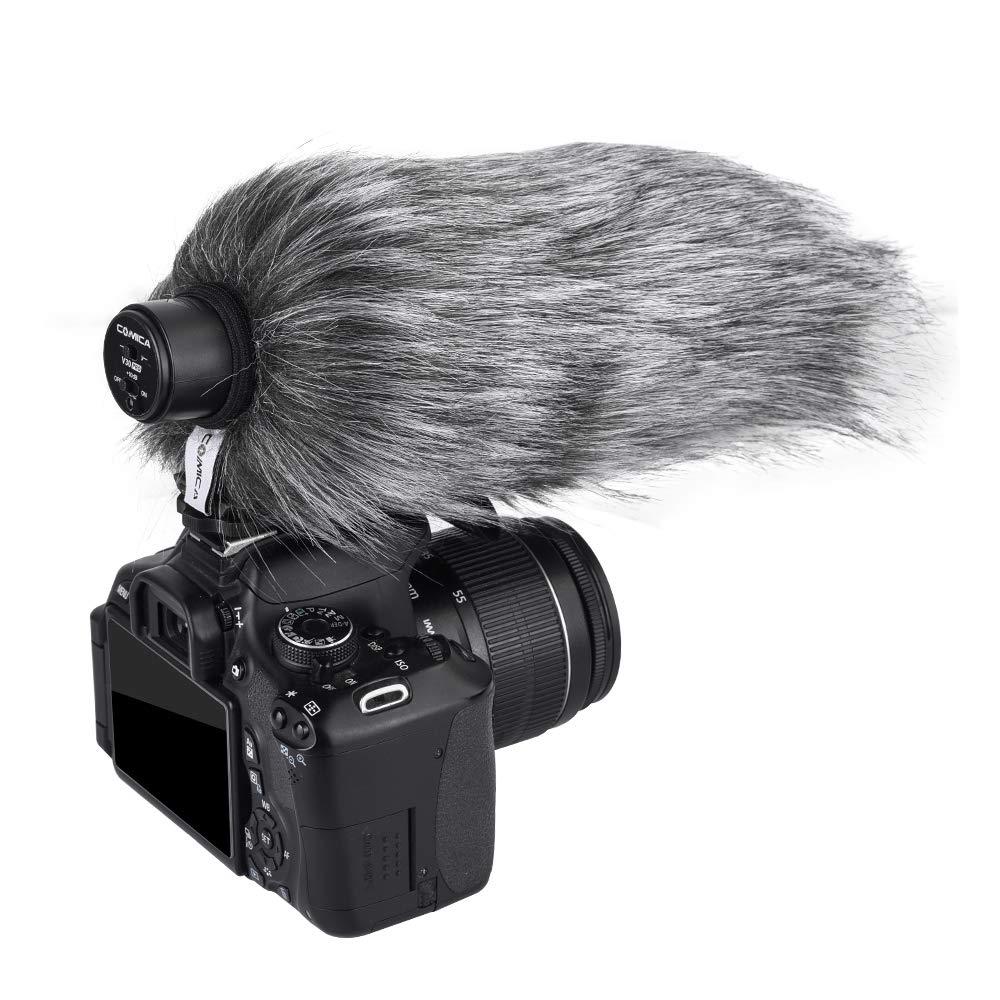 Comica CVM-MF2 Professional Windmuff Outdoor Windscreen for Comica CVM-V30LITE Camera Video Microphone