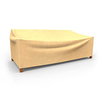 Budge All Seasons Outdoor Patio Sofa Cover  Extra Extra Large  Tan Amazon com   Budge All Seasons Outdoor Patio Sofa Cover  Extra  . Extra Large Sofa Cover Outdoor. Home Design Ideas