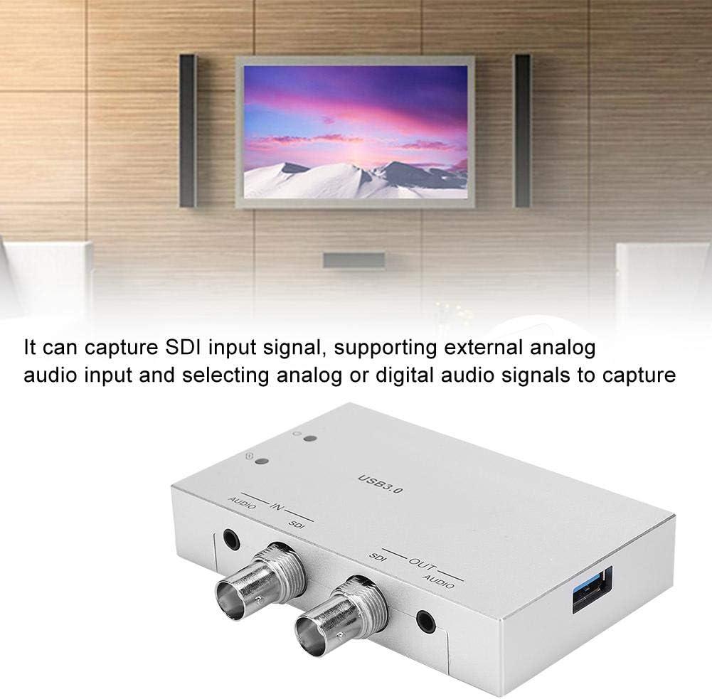 para Windows para Linux Tarjeta de adquisici/ón Caja de transmisi/ón en Vivo Tarjeta de Captura USB con Gran compatibilidad para Sistema OS X Tarjeta de Captura de Video