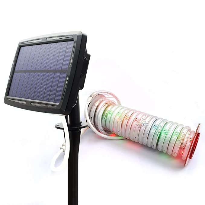 Review Solar Strip Lights 60