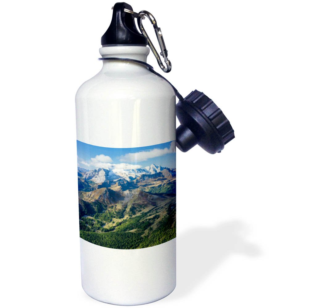3dRose Danita Delimont - Mountains - Mt.Marmolada, the queen of the dolomites. Central Italy - 21 oz Sports Water Bottle (wb_277619_1)