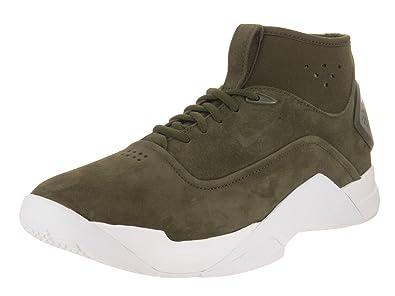 the latest ca4ed fbc96 Nike Men s Hyperdunk Low Crft Cargo Khaki Cargo Khaki White Basketball Shoe  8.5 Men