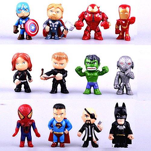 Marvel Avenger Superhéroe decoración para tarta de fiesta ...