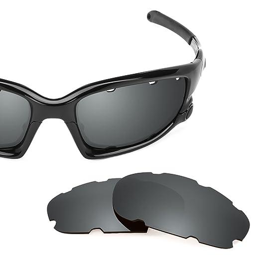 f3d444d009 Revant Polarized Replacement Lenses for Oakley Split Jacket Vented Elite Black  Chrome MirrorShield