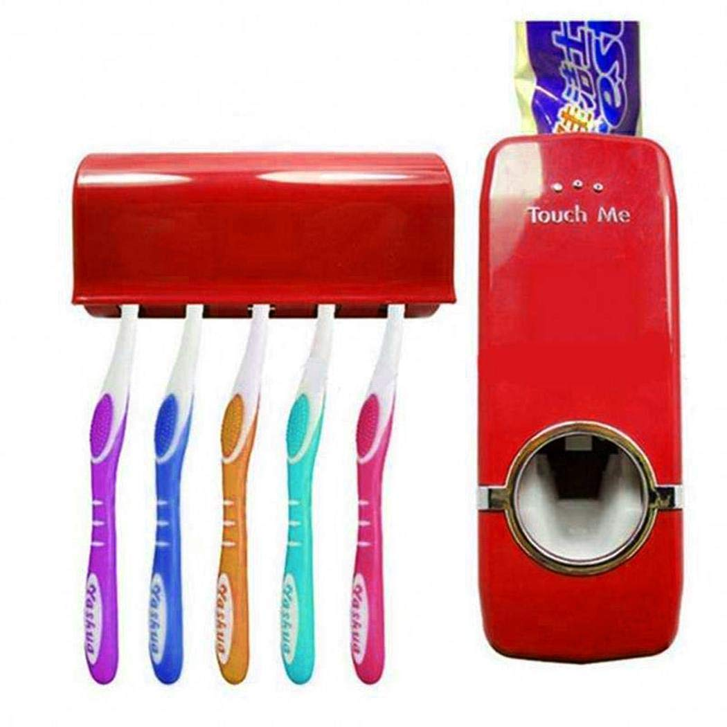 Bifast Creative Automatic Toothpaste Dispenser Squeezer and Holder Toothbrush Holders