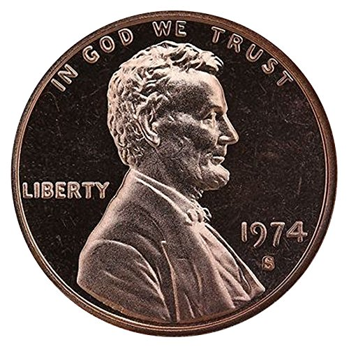 1974 S Lincoln Memorial Penny Cent Gem Proof US Mint