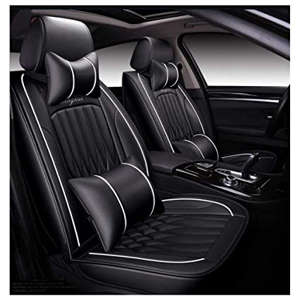 Pleasing Amazon Com Adhw Car Seat Cover Sets Universal Leather Pdpeps Interior Chair Design Pdpepsorg