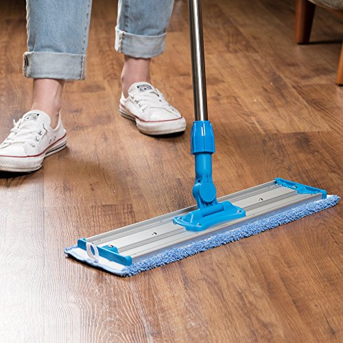 18 Quot Professional Microfiber Mop Stainless Steel Handle