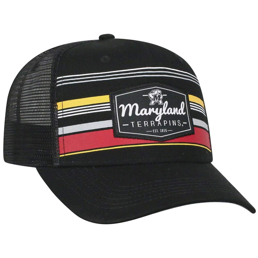 e9da173dc97cd Amazon.com   University of Maryland Terps Men s Trucker Hat Route  Adjustable Cap   Sports   Outdoors