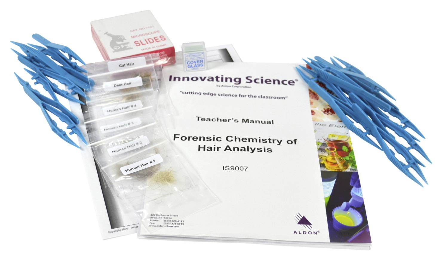 Innovating Science Forensic Chemistry of Hair Analysis Kit by Innovating Science