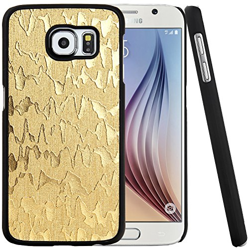 Samsung Galaxy S6 Case, Iwotou Hard Back Case Cover for Samsung Galaxy S6 with Multiple Colors (Gold)